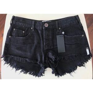 OneTeaspoon Low Waist Bonita Shorts